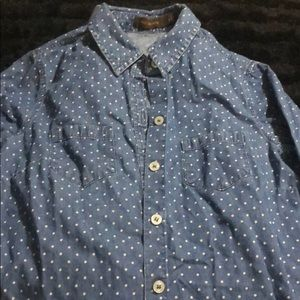 The Limited Denim Button Up